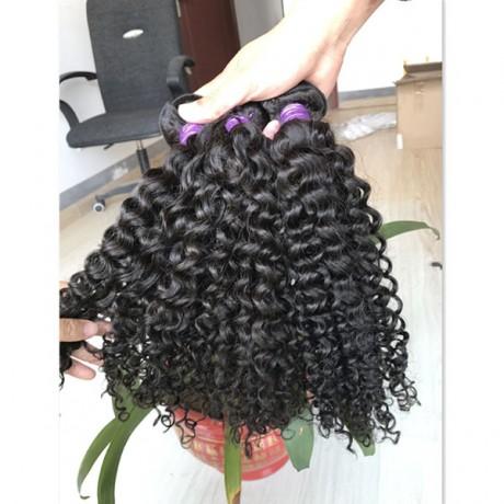 10 A  deep curly Hair Bundles Brazilian Hair Weave Bundles 100% Human Hair Bundles Natural Color 3pcs