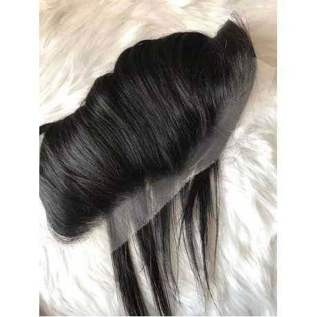 13x6 HD lace frontal with small knots virgin human hair 16-20inch in stock ! LS4271