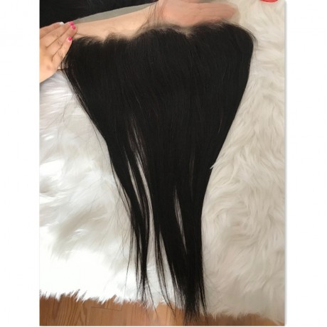 Transparent lace frontal 13x4 ear to ear silky straight/body wave/deep wave